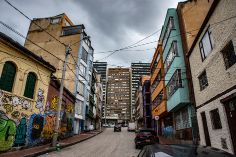 Bogota Street life