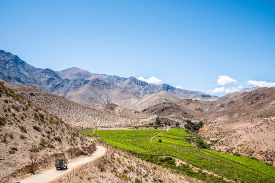 Vicuña - Ovalle road
