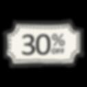 30% reduziert