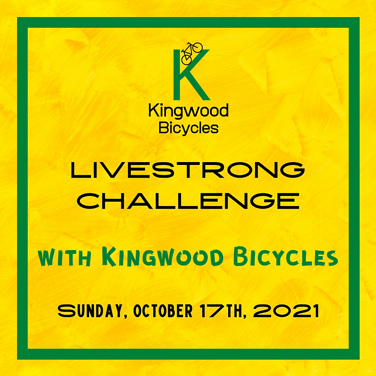 Livestrong Challenge with Kingwood Bicycles