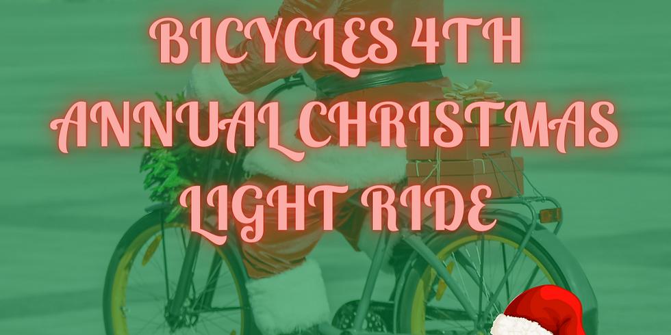 Kingwood Bicycles' Christmas Light Ride