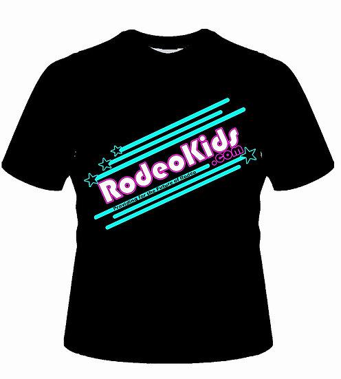 RodeoKids Black Crew Neck T-Shirt