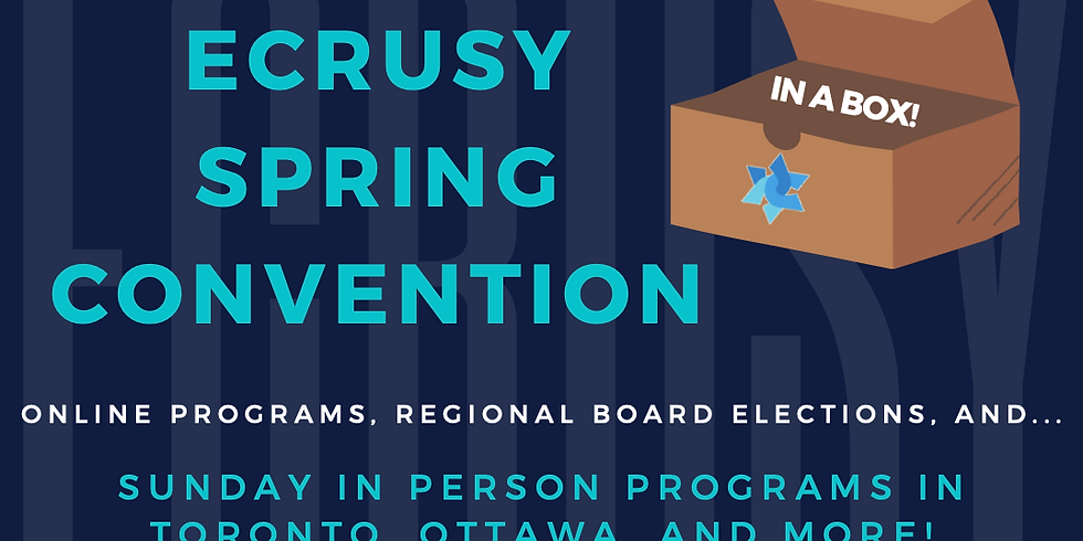 ECRUSY Spring Convention (IN A BOX!)