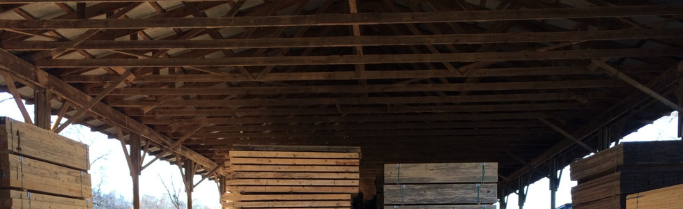 MILL LUMBER DRYING SHED