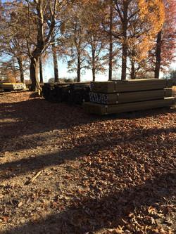 Treated Lumber Yard