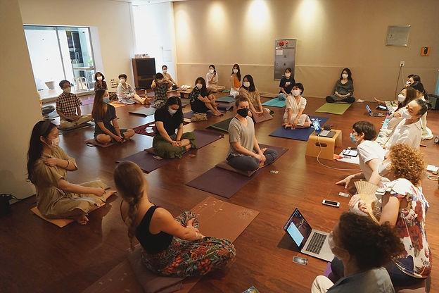 yoga teacher training daegu south korea asana study ayurveda healing