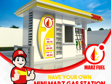 Have your own Gas Station      Starting at 2.8 Million Pesos.