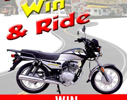Refuel, Win & Ride!