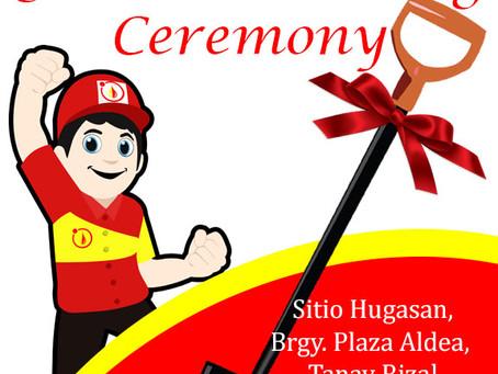 Ground Breaking Ceremony!