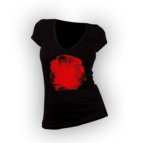 Red-Dot Shirt Girl (V-Neck)