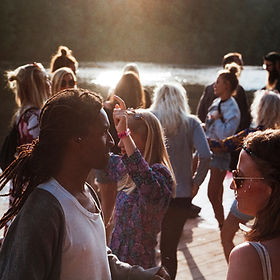 Party im Freien