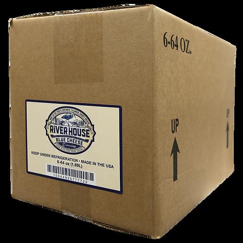64 oz Riverhouse Blue Cheese Dressing Case