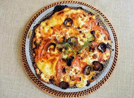 Pepperoni & Parmesan  Herb Pizza