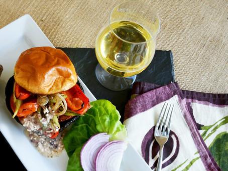Greek Feta  'Portobello Burger'