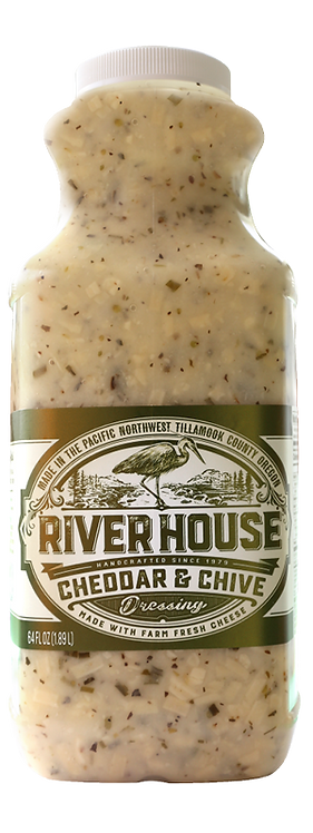 64 oz Riverhouse Cheddar and Chive Dressing