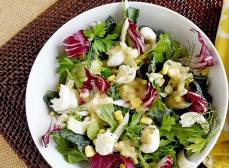 River House Cheddar  & Chive Spring Salad