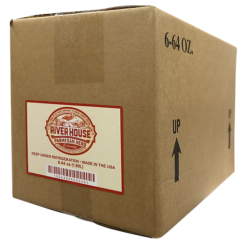 64 oz Riverhouse Parmesan Herb Dressing Case
