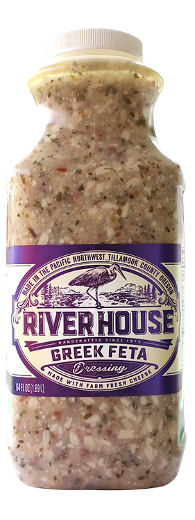 64 oz Riverhouse Greek Feta Dressing