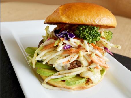 Honey Dijon Burger 'Southwestern Style'