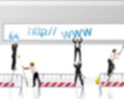 Concept of website under construction.jp