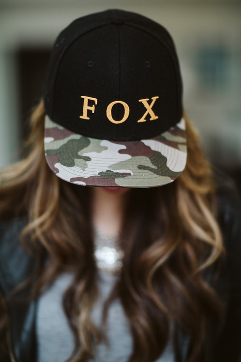 Fox + Belle Snapback Hat