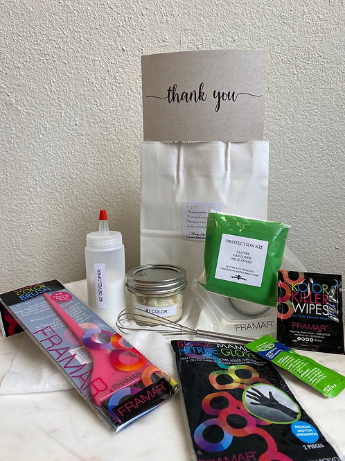 Complete Take Home Hair Coloring Kit