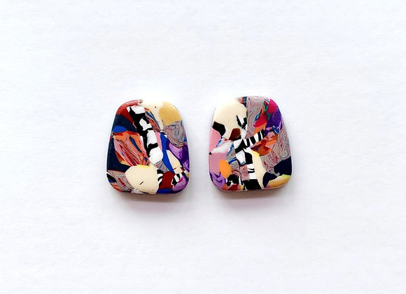 Colourful Studs - 001