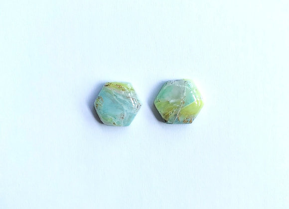 Rock Candy - 002 (Yellow and Turquoise)