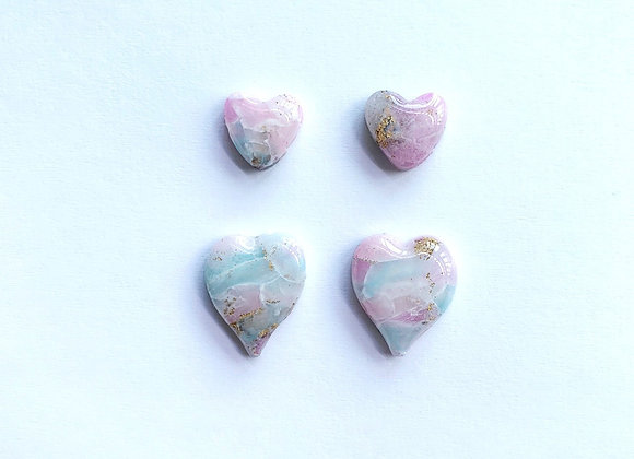 Rock Candy - 004 (Stud Pack) - Pink with Turquoise