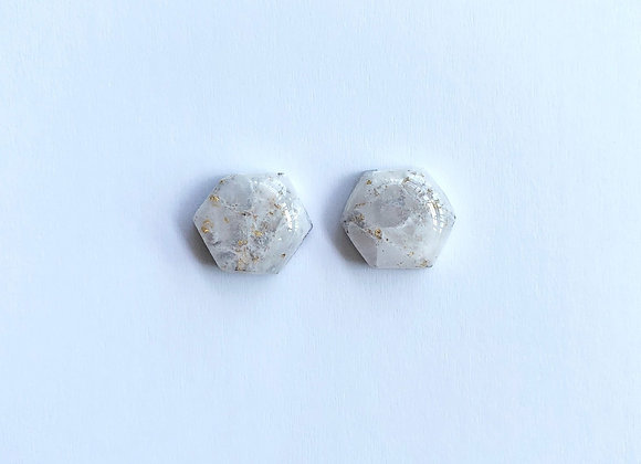Rock Candy - 002 (White and Gold)