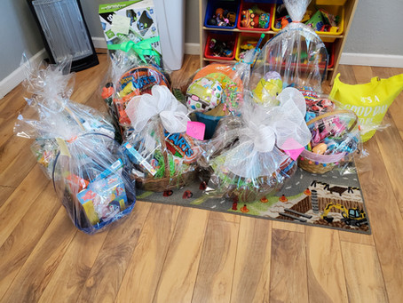Easter Bunny Visits All For Family