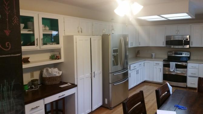 Amazing Transformation! Custom Kitchen!