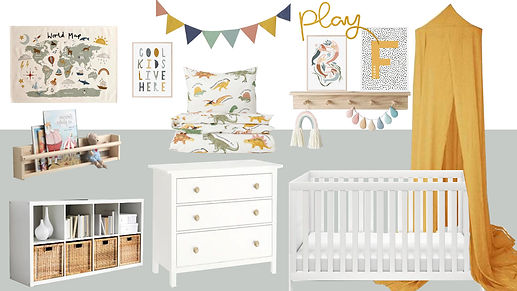 Product Board - Sienna & Romeo's  Childr