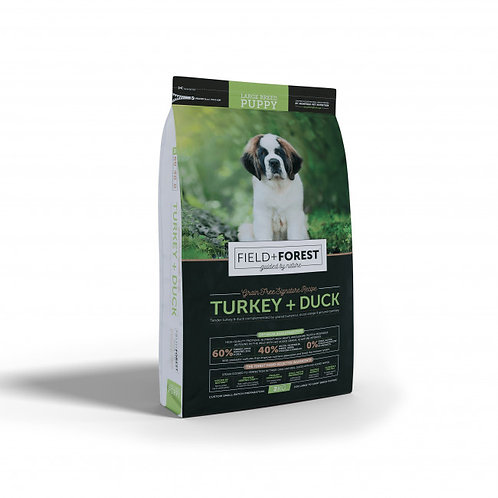 Field and Forest Turkey&Duck  LB Puppy