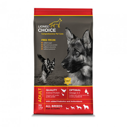 Lionels Choice Adult 20 kg
