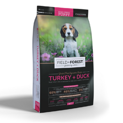 Field and Forest Turkey&Duck  SB Puppy