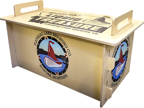 Birch Jockey Box Cover with Logos Only