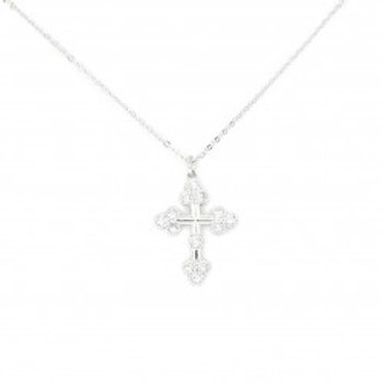 CZ Cross Necklace