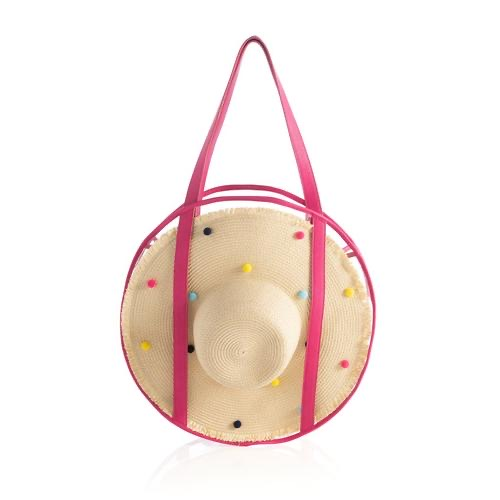 Bubble Beach Tote with Hat