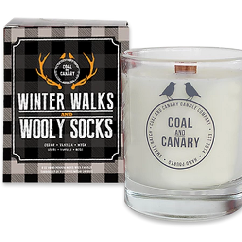 Winter Walks and Wooly Socks