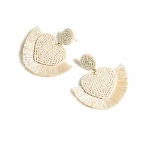 Misha Heart Earrings