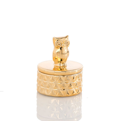 Small  Jewelry Owl Dish