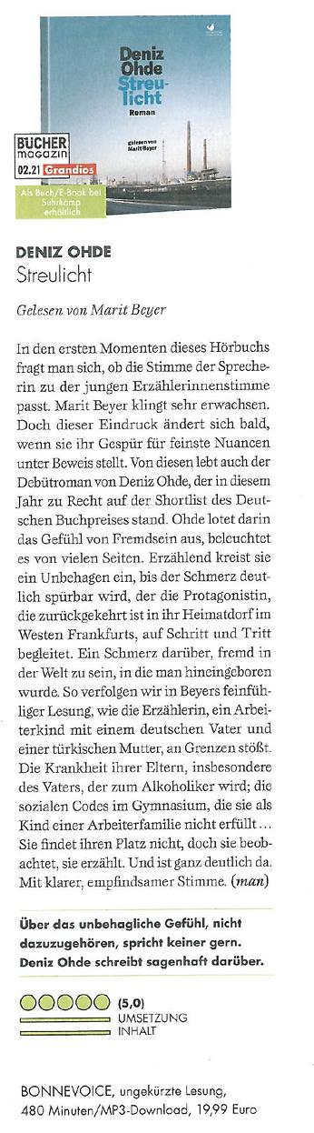 Presse - Sterulicht - Büchermagazin.png
