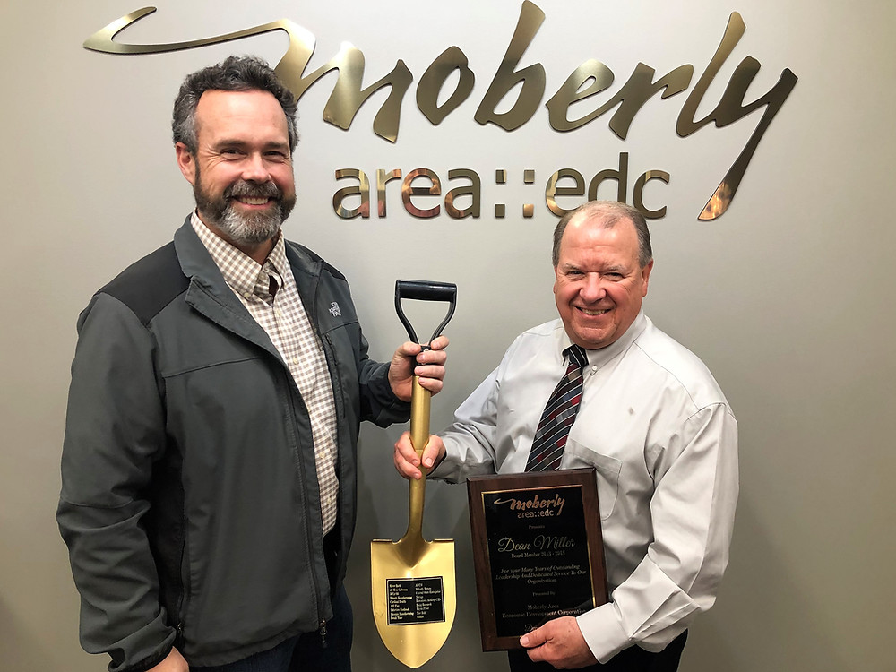 Jim Bratcher and Dean Miller, Moberly Area EDC