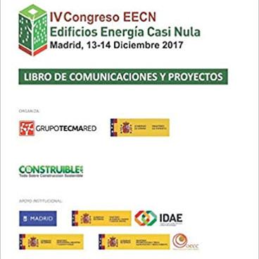 LIBRO DE COMUNICACIONES Y PROYECTOS IV CONGRESO DE EDIFICIOS DE ENERGIA CASI NULA
