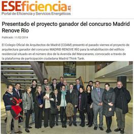 ARTICULO ESEFICIENCIa GANADORES CONCURSO MADRID RENOVE RIO