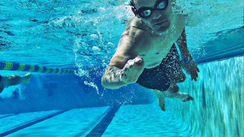 Glenn Hartrick Swimming