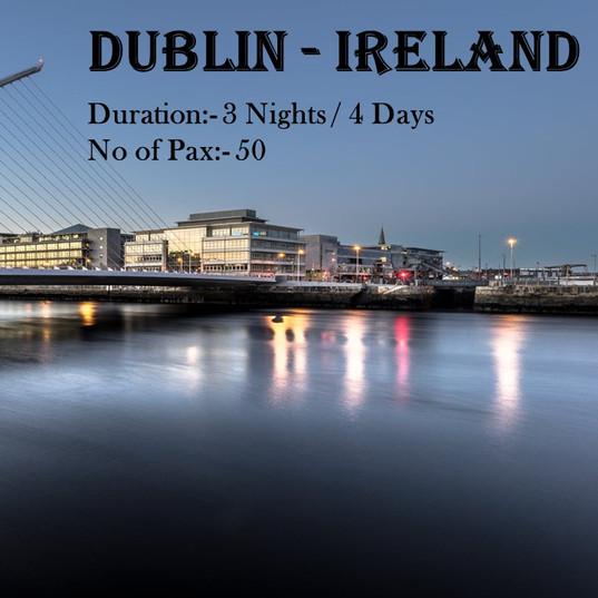 Dublin - Ireland 03 nights and 04 days.j