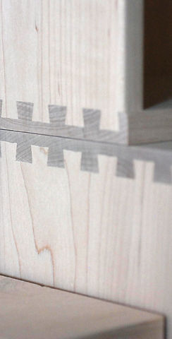 Dovetail drawers manufactured in Texas