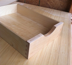 Hardwood Front Pull-out